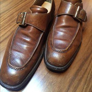 Bruno Magli Men's vintage leather dress shoes